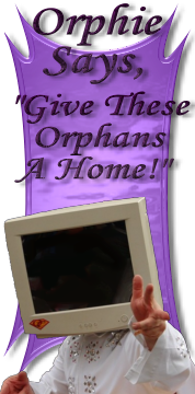 Orphie Says, Give These Orphans a Home!