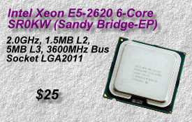 Xeon E5-2620, SR0KW