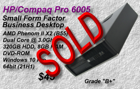 HP Pro 6005 SFF