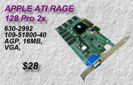 APPLE ATI RAGE 128 Pro 2x