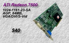 ATI Radeon 7500 1024-1161-23-SA