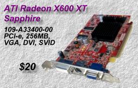 ATI Sapphire Radeon X600 XT