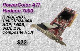 PowerColor ATI Radeon 7000 RV6DE-NB3