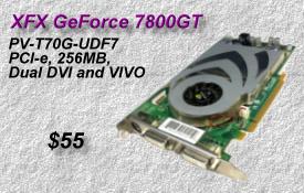 XFX GeForce 7800GT
