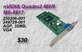 nVIDIA Quadro2 MXR MS-8817