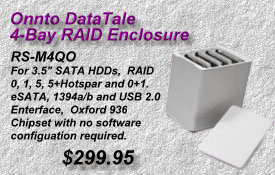 Onnto DataTale RAID Enclosure, RS-M4QO