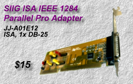 SIIG ISA IEEE 1284, JJ-A01E12