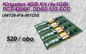 Kingston UW728-IFA-INTC0S