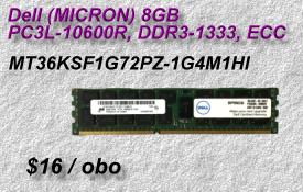 Dell Micron MT36KSF1G72PZ-1G4M1HI