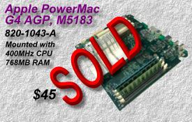 Apple PowerMac G4 AGP M5183 820-1043-A