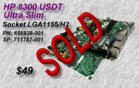 HP 8300 USDT Ultra Slim MOBO, PN:656939-001 SP:711787-001
