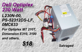 Optiplex 0MC633, L230N-00, PS-52312DS-LF