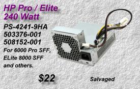 Pro Elite PS-4241-9HA,503376-001,508152-001
