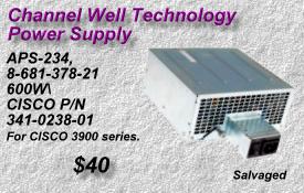 SONY APS-234, CISCO 341-0238-01